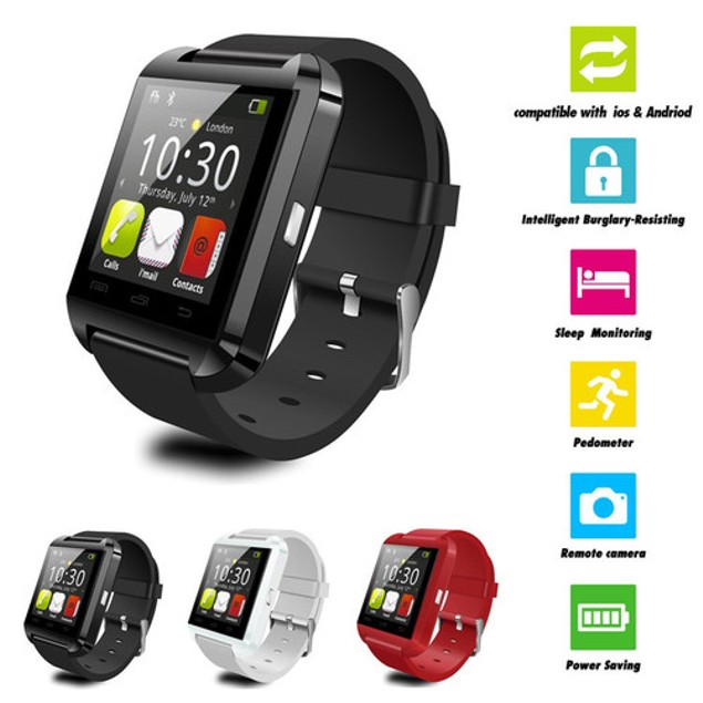 Bluetooth Smart Watch U8 for Android Smartphones