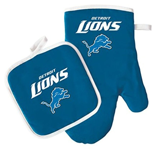 Detriot Lions NFL Oven Mitt & Pot Holder