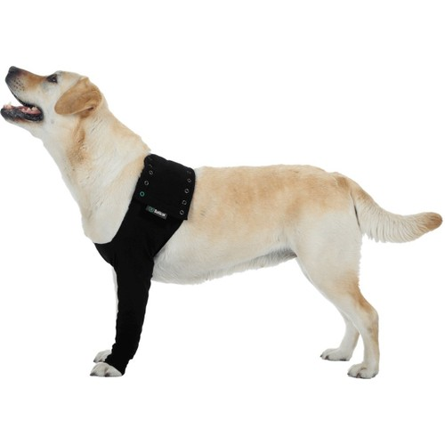 Suitical Dog Recovery Sleeve XXXS Black