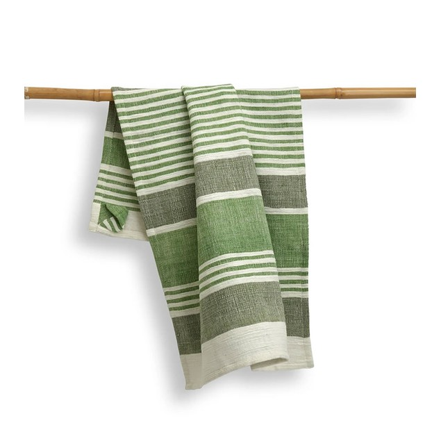 """Spura Home Kitchen Hand Woven Dish Cotton absorbent Towels 27""""x19"""""""