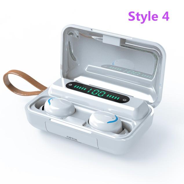 Wireless Digital Display TWS Gaming Bluetooth Headset 5.1 Dual-call Battery Display