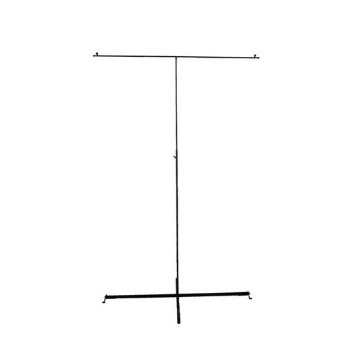 Metal Photo Banner Display Stand - Black