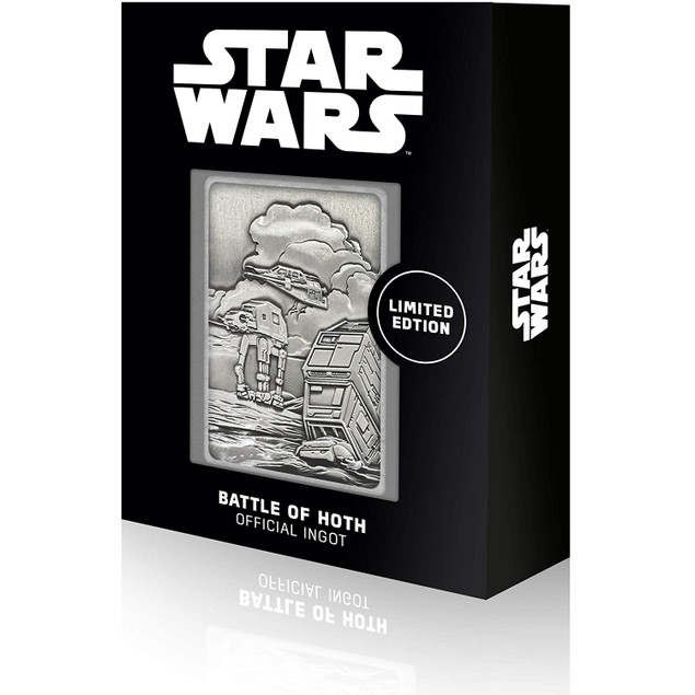 K-003 Hoth Planet Scene (Star Wars) Limited Edition Metal Collectable Ingot