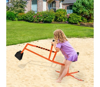 Outdoor Kids Sand Digger Ride On With 360°Rotatable Seat and Metal Base - 2 Colors Was: $66.99 Now: $59.99.