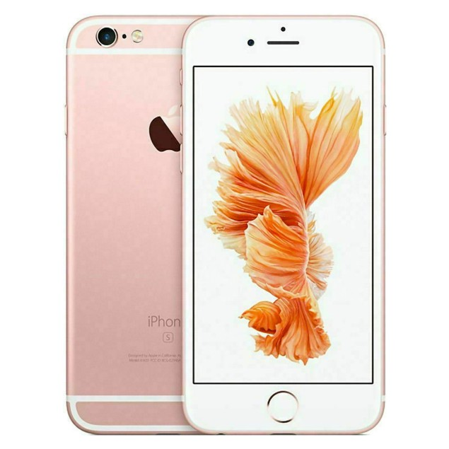 Apple iPhone 6s 128GB Verizon GSM Unlocked T-Mobile AT&T 4G LTE Smartphone Rose Gold - A Grade