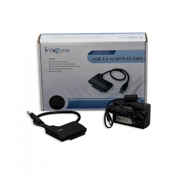 "USB 3.0 To SATA III Adapter Cable 2.5"" Hard Drive HDD"