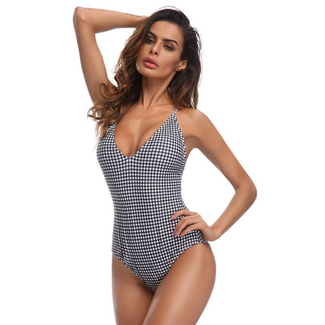 Gingham Plaid Swimsuit