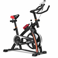 Deals on Costway Indoor Cycling Bike with LED Display