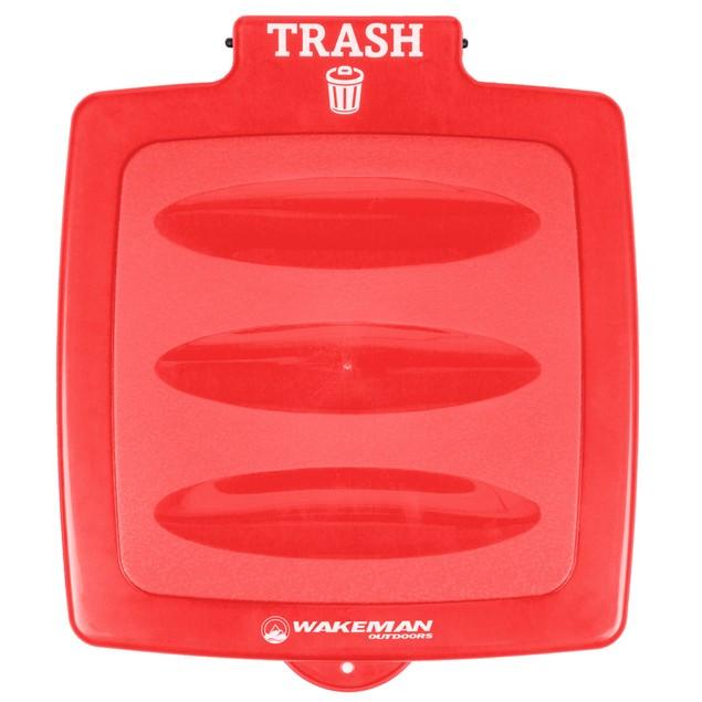 Garbage Trash Bag Holder Red Wakeman Outdoors