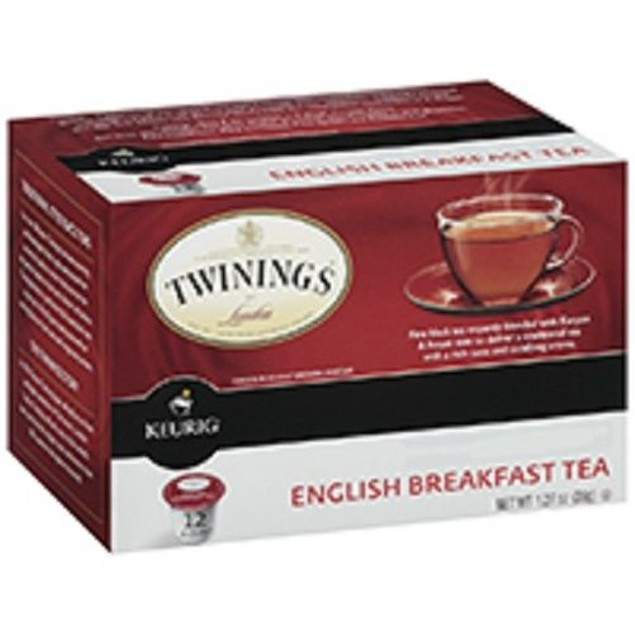Twinings Of London English Breakfast Tea Keurig K-Cups 12 Cup Box
