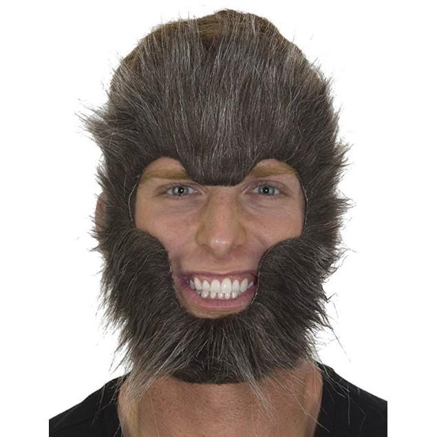 Adult Gray Werewolf Mask