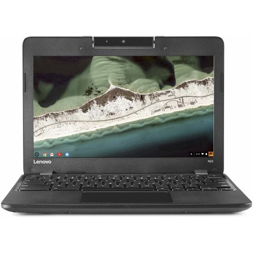 "Lenovo Chromebook N23 11.6"" 16GB Celeron N3060,Black (Refurbished)"