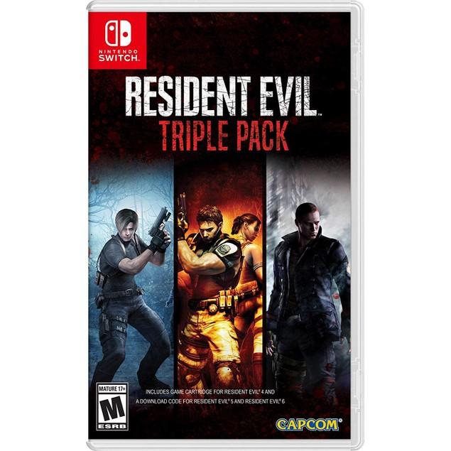 Resident Evil Triple Pack Nintendo Switch Game (#)
