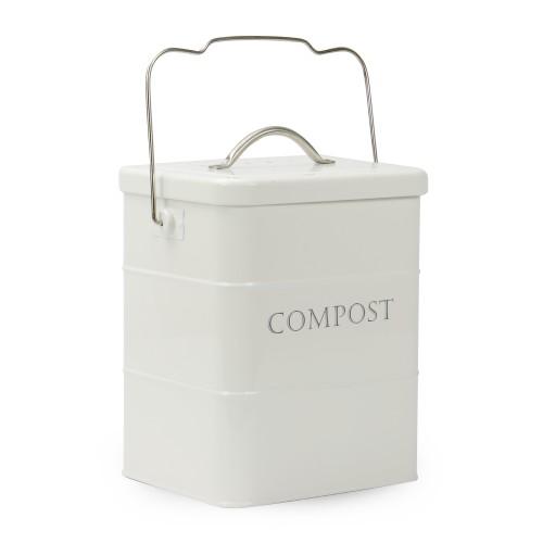 3.5L Kitchen Compost Waste Bin   MandW