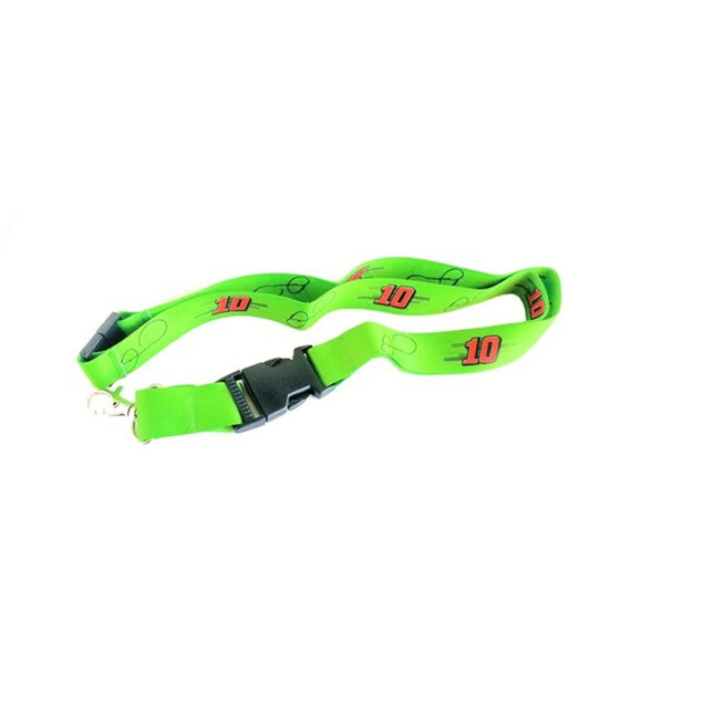 Cleanlapsports Kyle Busch Lanyard with Clasp Clip