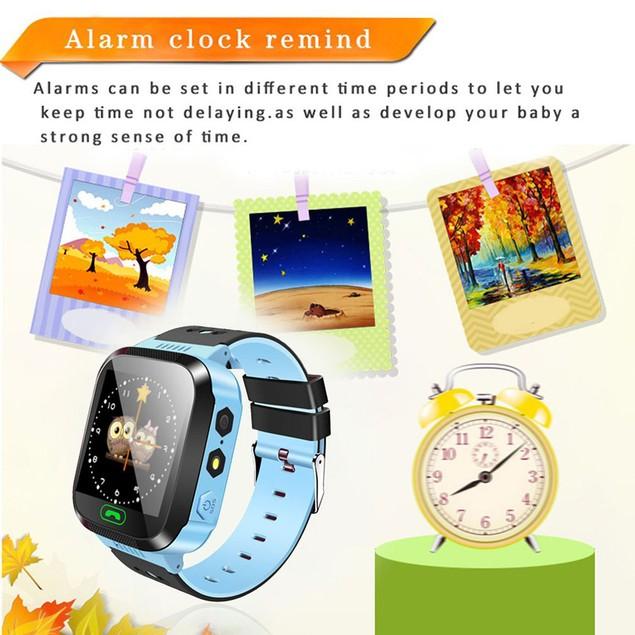Phone Smart Watch Waterproof SOS Anti Lost Tracker Wristwatch
