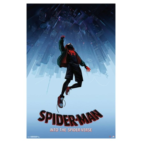 Spider-Man: Into The Spider-Verse Falling Poster