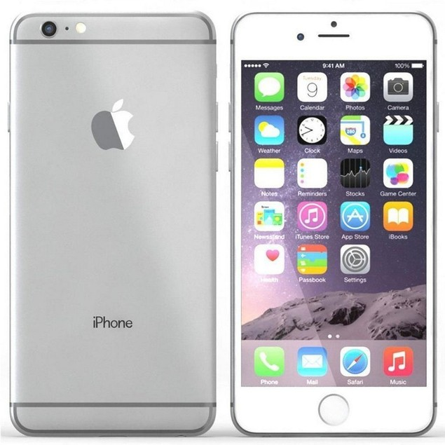 Apple iPhone 6, AT&T, Silver, 16 GB, 4.7 in Screen