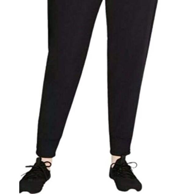 Ideology Women's Mushy-Knit Joggers Black Size XX Large