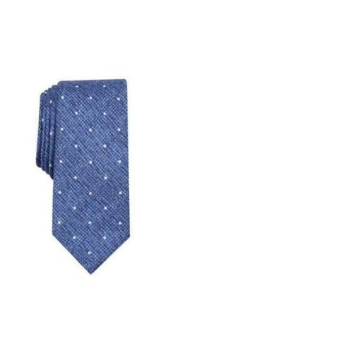 Bar III Men's Gregory Dot Skinny Tie Navy Size Regular