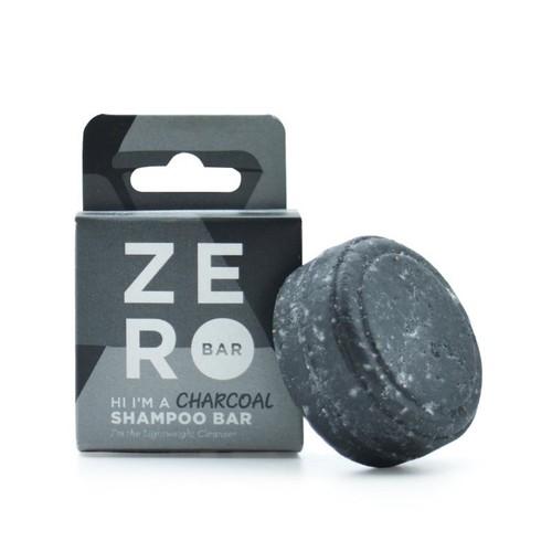 Zero Bar Eco-Friendly Shampoo Bar Charcoal Cleanser Argan Oil 1.8 Oz