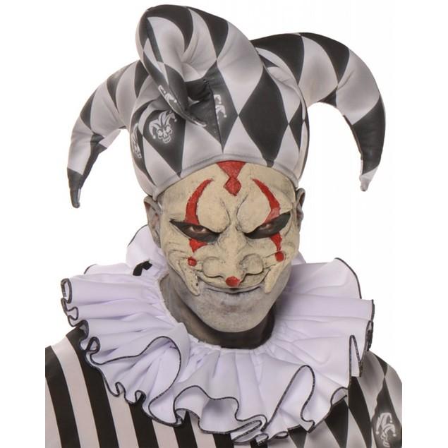 Harlequin Collar Clown Ruffled Evil Horror Circus Costume TV Movie Cosplay