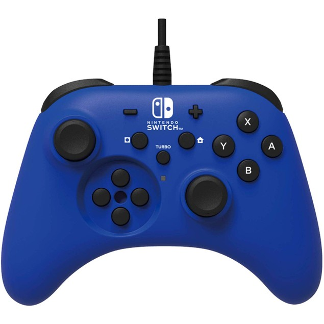 HORIPAD Wired Controller Blue for Nintendo Switch