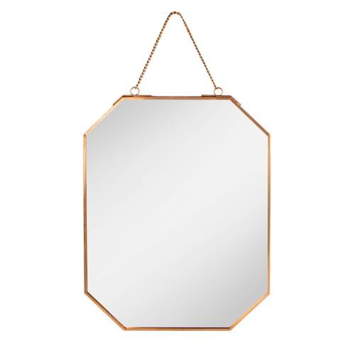 Vintage Hanging Mirror | MandW Gold
