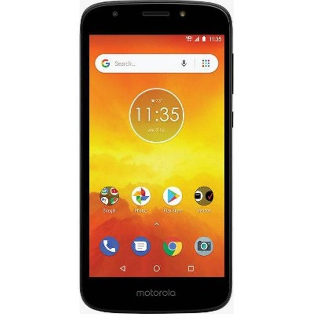Verizon Prepaid Motorola E5 Go (16GB) - Black
