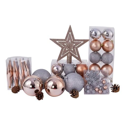 53 Piece Christmas Decoration Tree Ornament Set