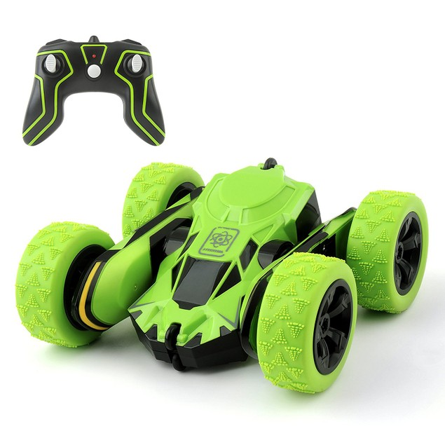 On and Off Roading Race and Stunt RC Cars with 360-Degree Flips