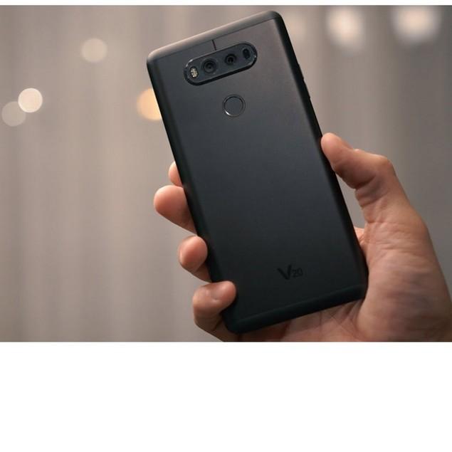 LG V20, AT&T, Gray, 64 GB, 5.7 in Screen