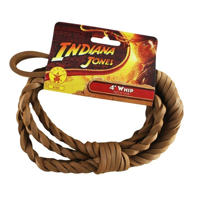 Indiana Jones 4' Whip Indiana Jones Four Foot Costume Accessory Costume
