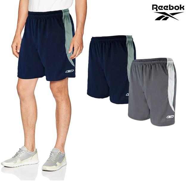 2-Pack Reebok Men's Two-Toned Performance Mesh Shorts