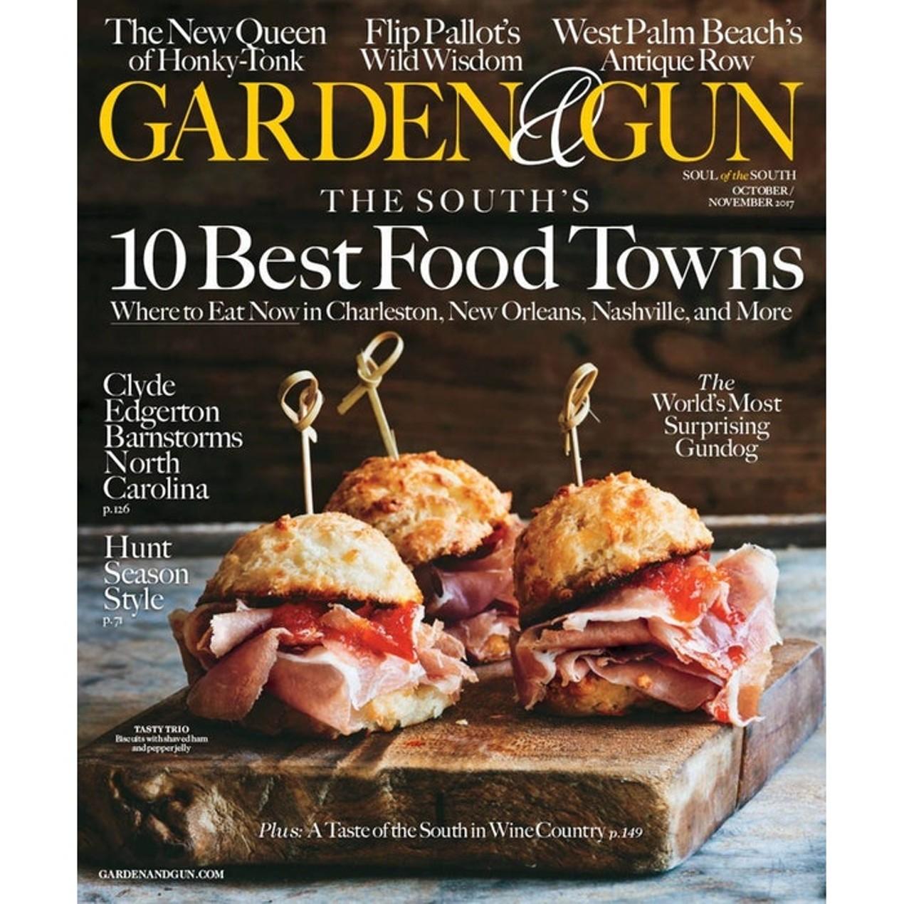 Garden & Gun Magazine Subscription - Tanga