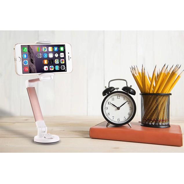 Universal 360 Degree Smartphone Mount for Windshield, Dashboard, or Desktop