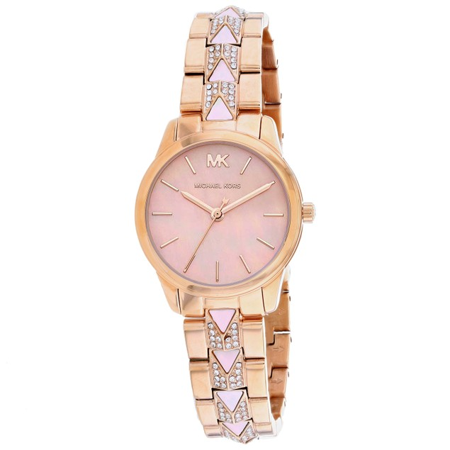 Michael Kors Women's Runway White Dial Watch - MK6856