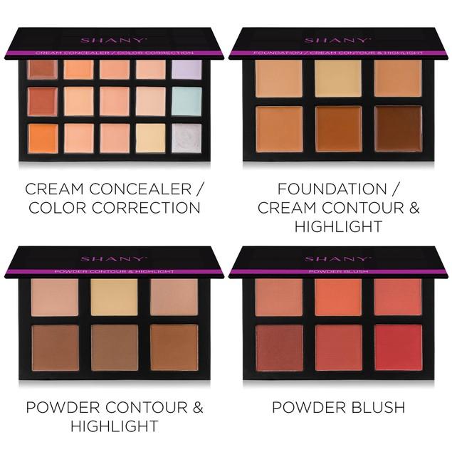 SHANY 4-Layer Contour Makeup Set - Refills