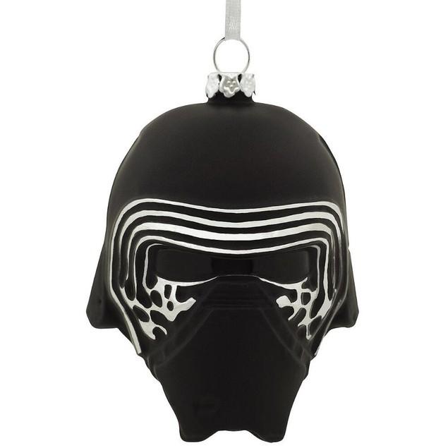 Star Wars Kylo Ren Helmet Glass Ornament Christmas Xmas Funny Holiday Gift