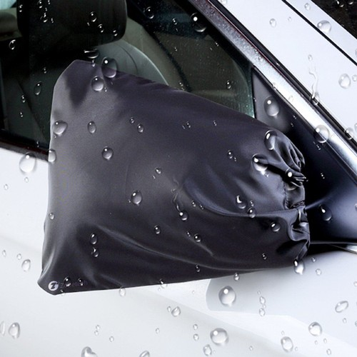 2-Pack Zone Tech Side Car Mirror Frost Guard  Winter Waterproof Cover
