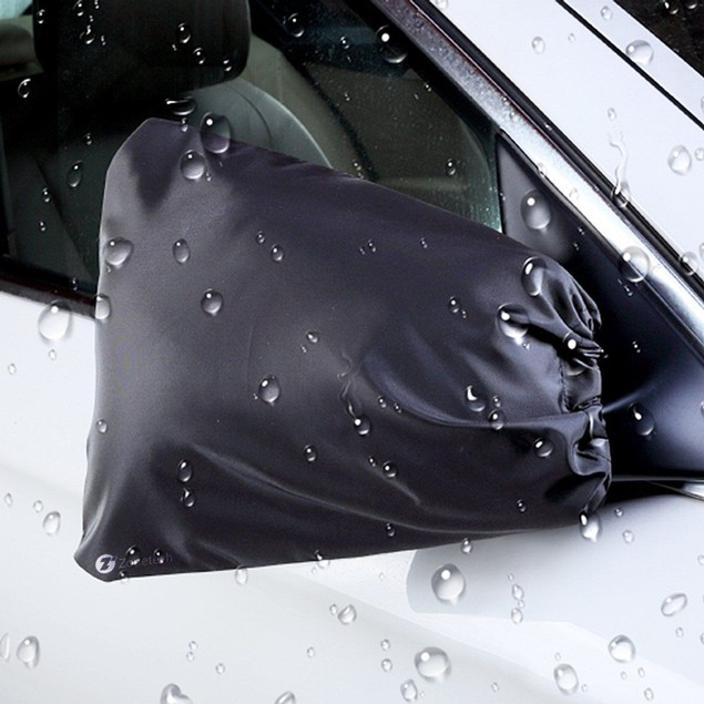 Zone Tech 2x Side Car Mirror Frost Guard Snow Ice Winter Waterproof Cover