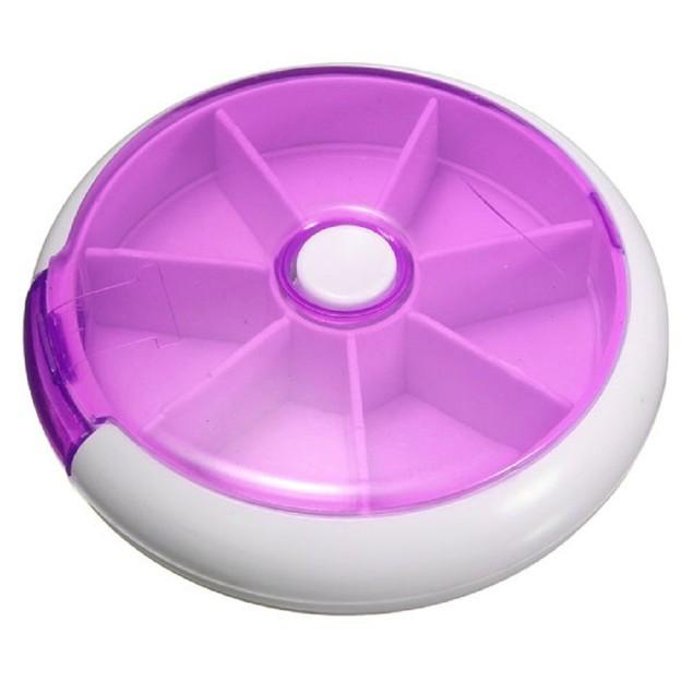 Portable 7 Slot Pill Organizer