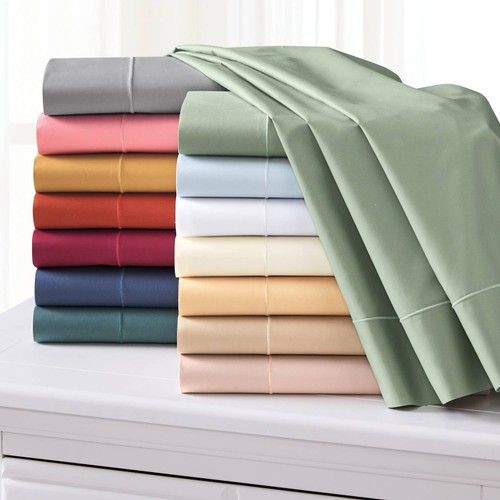 6 Piece Set: Premium Quality Bamboo Eco-Friendly Sheets W/ Deep Pockets