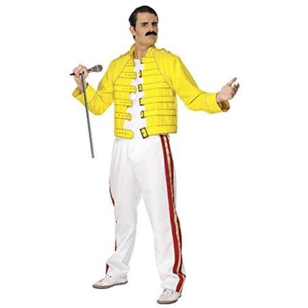 Freddie Mercury Wembley Stadium Queen Costume