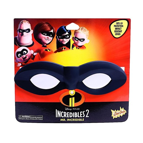 The Incredibles Mask Sun-Staches Glasses