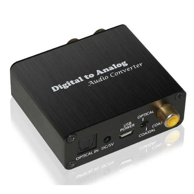 XtremPro Digital to Analog Audio Converter w/ USB Power Cable & AC Adaptor
