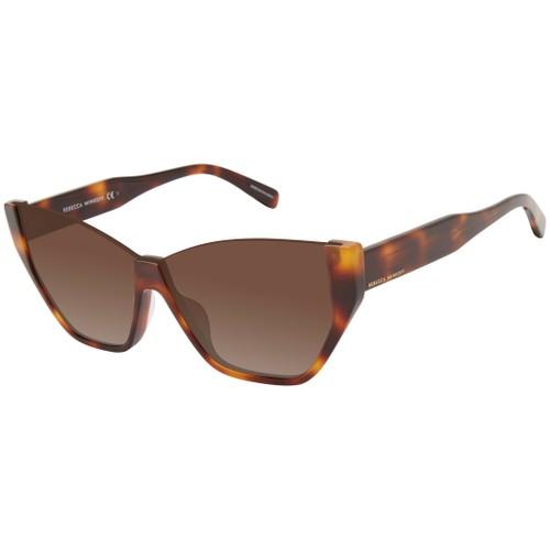 Rebecca Minkoff Women Sunglasses RMSELMA2S Havana Honey Cat Eye/Butterfly