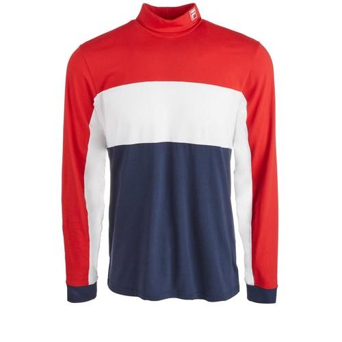 Fila Men's Matteo Turtleneck Sweater Red Size Extra Large
