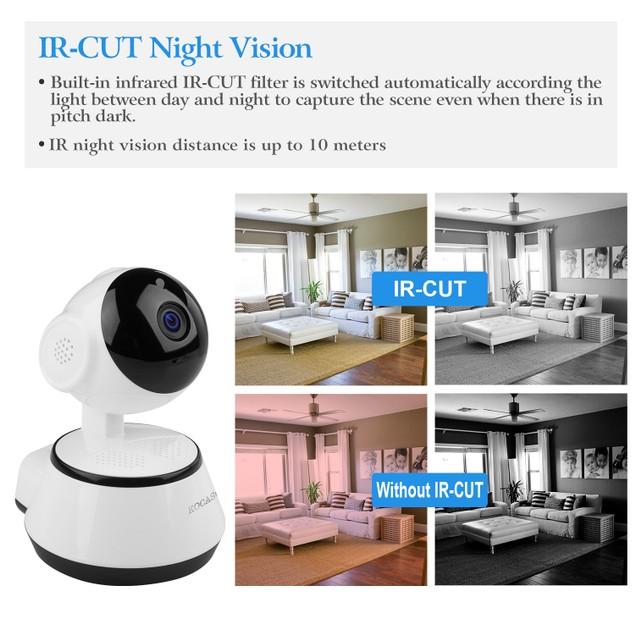 KOCASO 720P WiFi IP Camera Motion Detection IR Night Vision