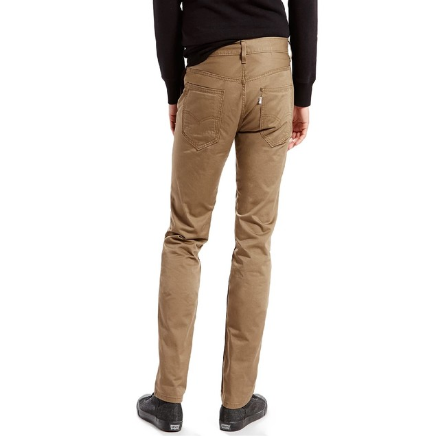 Levi's Men's Slim Fit Hybrid Trousers Brown Size 28X32